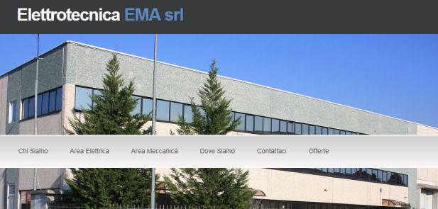 Elettrotecnica EMA srl - sviluppo sito web
